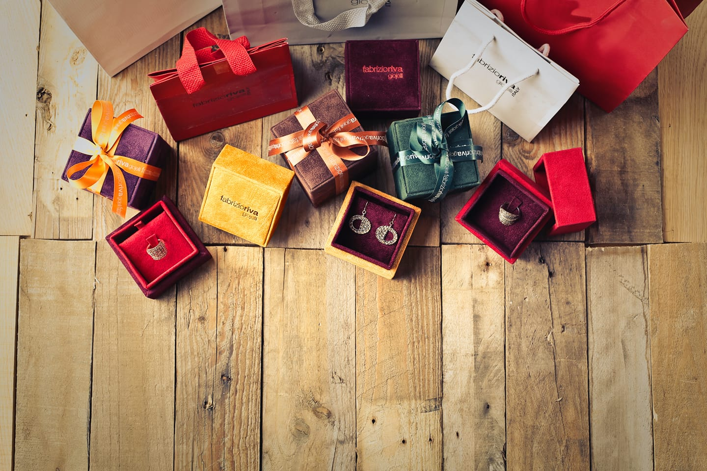 a number of beautiful Christmas gifts